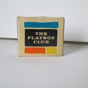 Playboy Club Matchbox