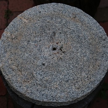Large Granite Disc