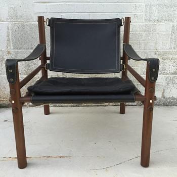 1960's Arne Norell Sirocco Safari Mid Century Modern Chair