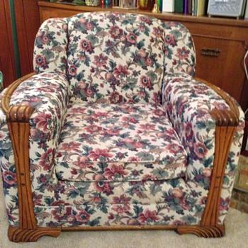 2 chairs & have a couch to match the lighter wood - Sears? - Furniture
