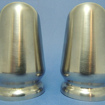 Reed & Barton Stainless Steel S&P Shakers