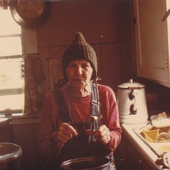 What life on Farm really is like . Grandmother still working  - Photographs