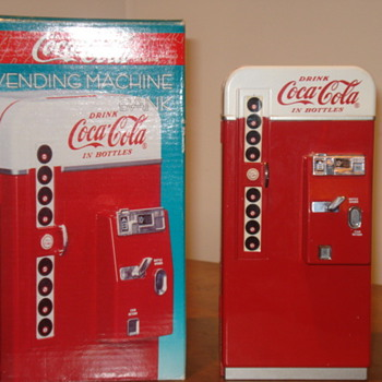 Coca Cola Die-Cast Bank - Coca-Cola