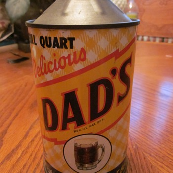 1940's DAD's Root Beer Can One Quart