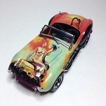 "1966 Shelby Cobra 427 S/C  ""Mistress of Fire"" by Boris Vallejo  - Model Cars"