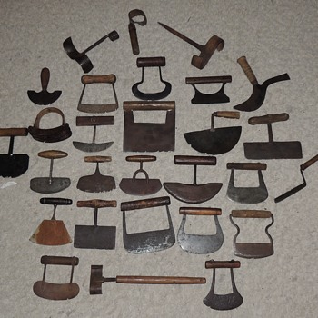 Collection of Herb & Spice Choppers - 1750-1950 - Kitchen
