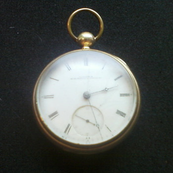 Illinois Open Face Model Miller - Pocket Watches