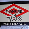 Diamond 760 flange sign