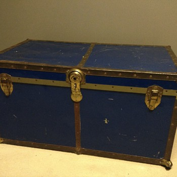 Unknown steamer trunk....any ideas?