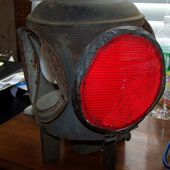 Vintage Switch Lamp? - Railroadiana