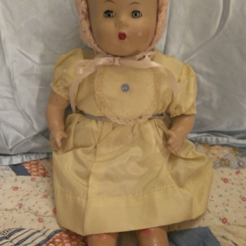 Antique Composition Doll - Dolls