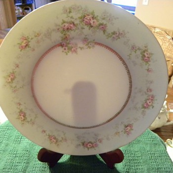 MZ Austrian China plate