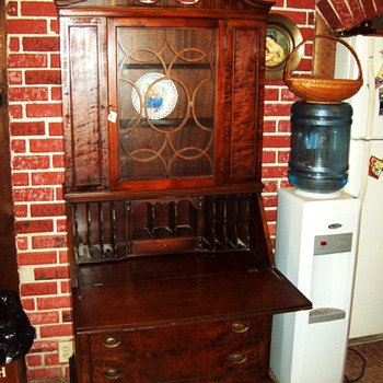 Antique Secretary Desk/Hutch by Union Furniture Co. Rockford Illinois.