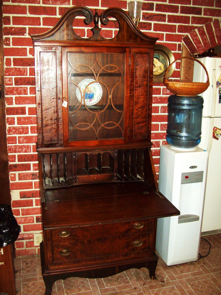 Antique Secretary Desk Hutch By Union Furniture Co Rockford Illinois Collectors Weekly