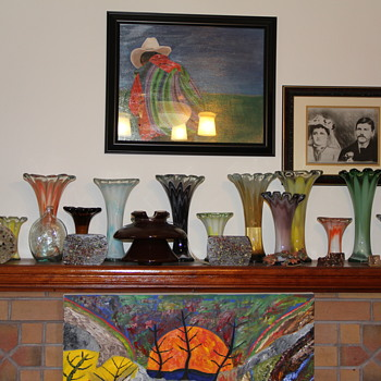 If you cant find any of this style murano its because i have them all  lol - Art Glass