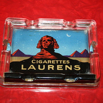 cigarette laurens khedive ashtray