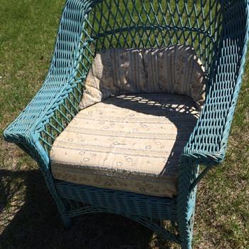 Wicker Chair - Furniture
