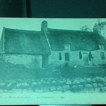 Vintage Pont-L'Abbe Postcard