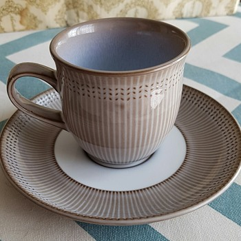 Noritake cup and saucer set