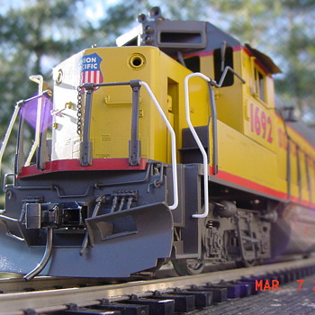 Model trains and my passion for brass. - Model Trains