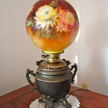 Unsolved Mystery - Antique Lamp - Lamps