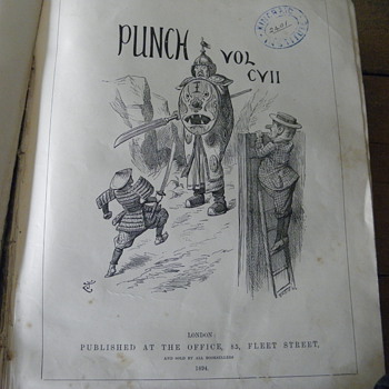 Pages from Punch vol c y 11 1894