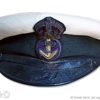 WW1 ERA4 visor cap. - Military and Wartime