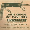 1932 Universal & Ulster Boy Scout Knife Advertisements