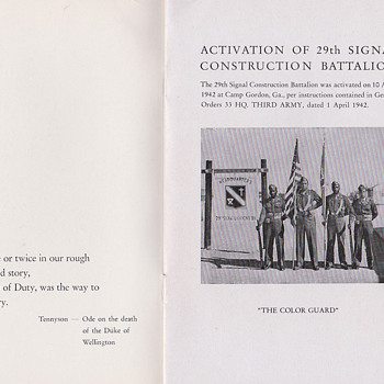 29th Signal Battalion Germany book