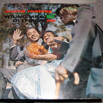 MOMS MABLEY YOUNG MEN SI OLD MEN NO CHESS RECORD LABEL - Records