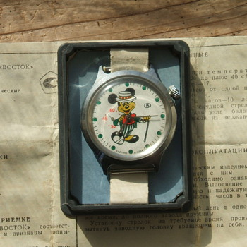 Soviet (CCCP Marked) Mickey Wristwatch 