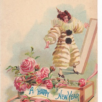New Year Postcard - Postcards