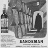 1950 Sandeman Advertisement