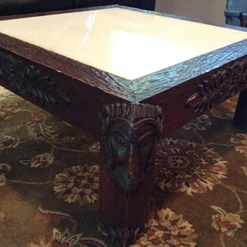 Unique Spanish Coffee Table