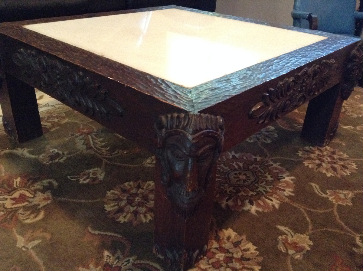 Unique Spanish Coffee Table Collectors Weekly