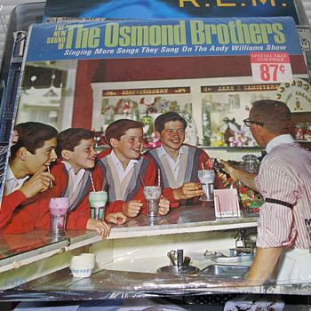 THE NEW SOUND OF THE OSMOND BROTHERS MGM RECORDS - Records