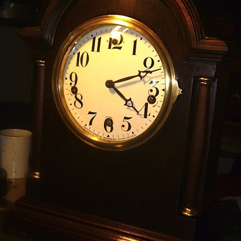New Heaven  Westminster Chime Mantel Clock - Clocks