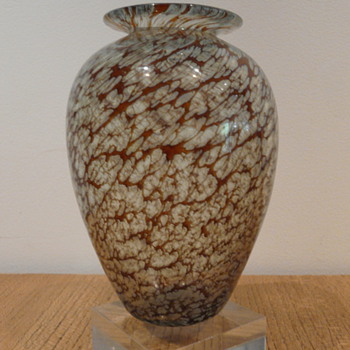 NICK MOUNT BUDGEREE VASE 1986. #2 - Art Glass