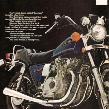 1979 - Suzuki Motorcycles Advertisement Pamphlet