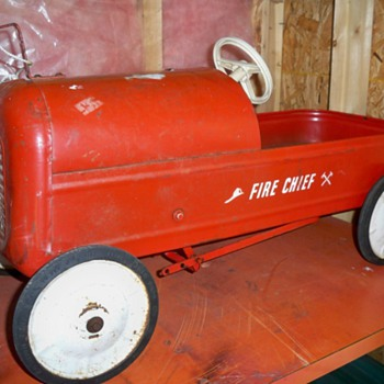 1955 canadian thistle bantam pedal car