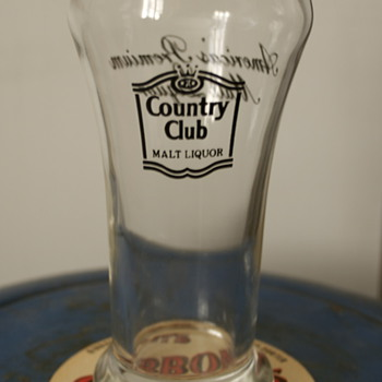 Country Club Malt Liquor Glass
