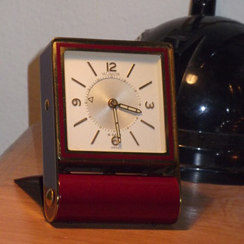 find of the month, LeCoultre travel alarm clock!!