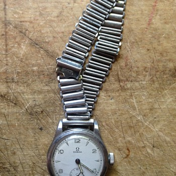 Omega Watch On A Bonklip Strap - Wristwatches
