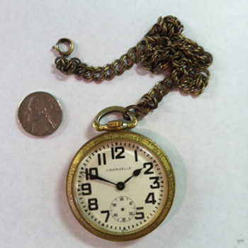 Caravelle Pocketwatch