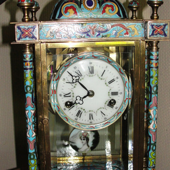 Please help identify this cloisnne pendalum clock