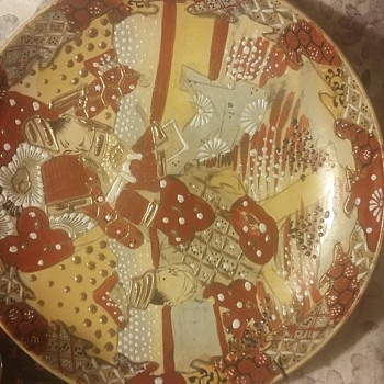 Meiji era? Chinese plate