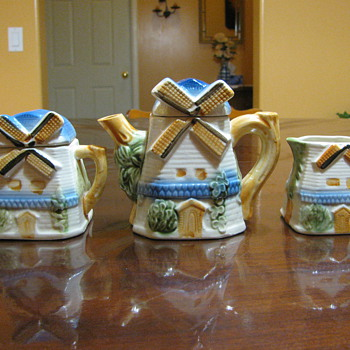 Windmill Tea Set - China and Dinnerware