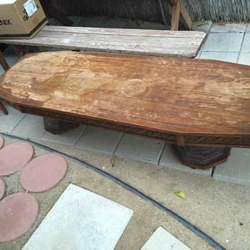 Vintage Lane MCM Coffee Table - Style No 1085 09 - Furniture