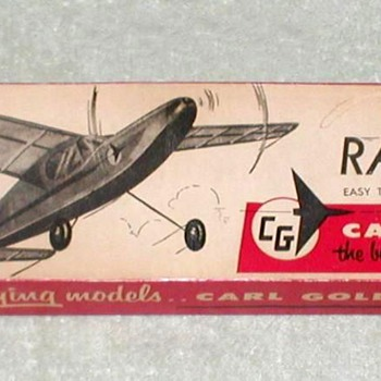 "1966 - Goldberg ""Ranger 28"" Balsa Airplane Kit - Toys"