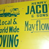 Vintage 18 x 24 inch Advertising sign